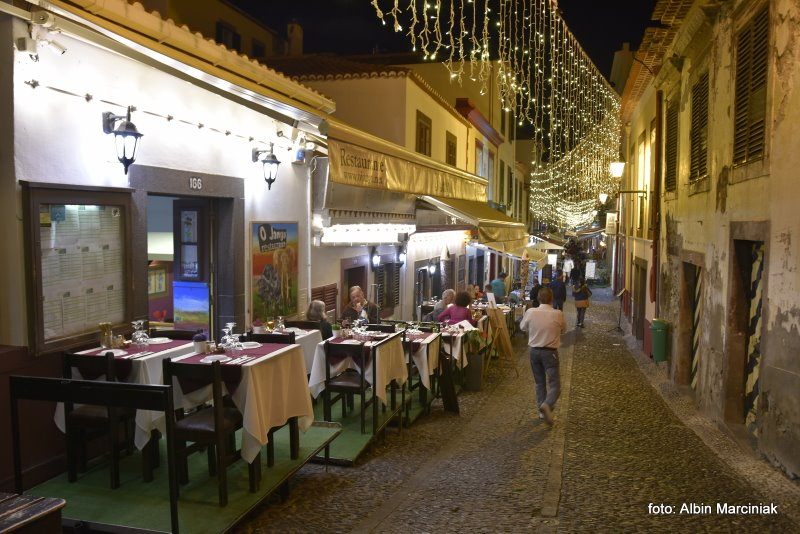 Madeira Portugal Funchal night 3