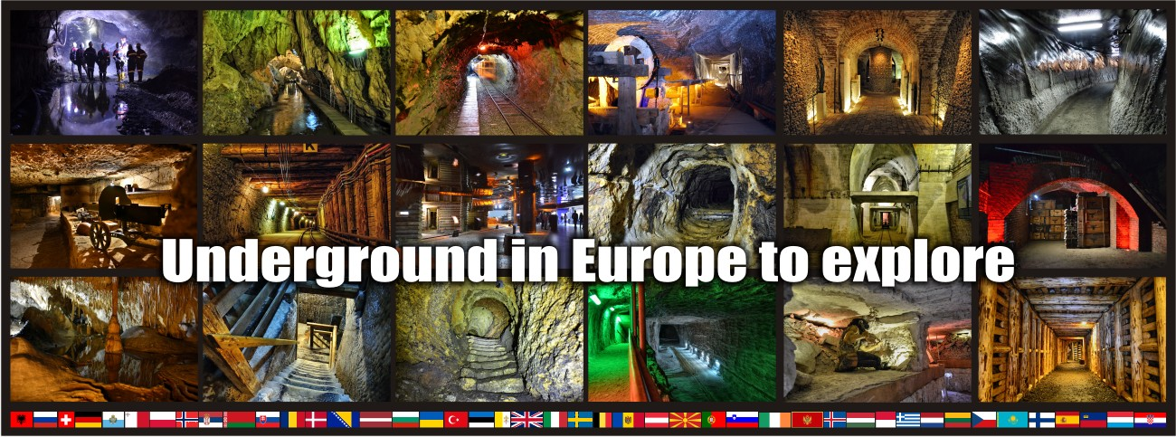 Underground in Europe explore maps