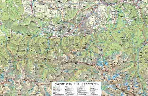 Mapy Tatr W Duzej Rozdzielczosci Forum Klubu Podroznikow